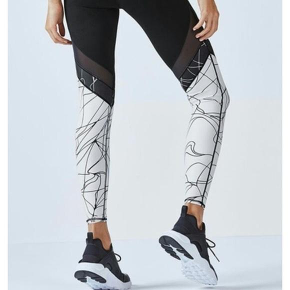 e20882e999fe84 Fabletics Pants | Nwt Brogan Mesh Legging | Poshmark